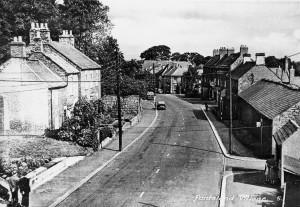 Ponteland Main St. 1950's