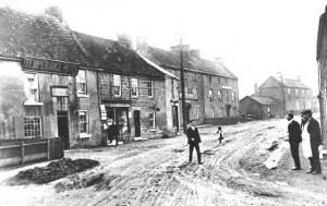 Ponteland Main St. 1904
